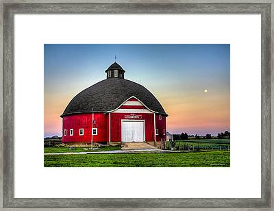 Moon Over Mulberry Framed Print
