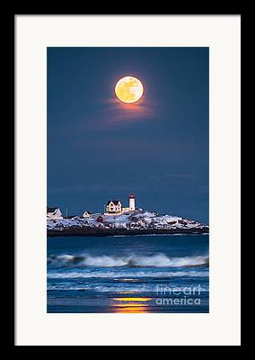 Maine Landscapes Photographs Framed Prints