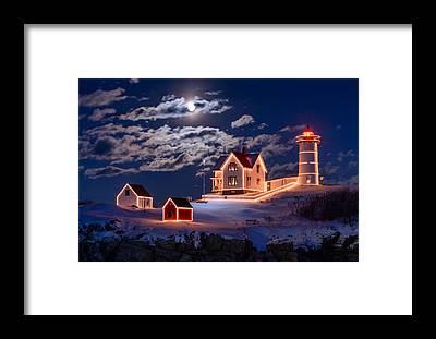 Lighthouse Framed Prints