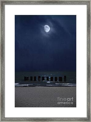 Moon Over Waters Framed Print by Margie Hurwich