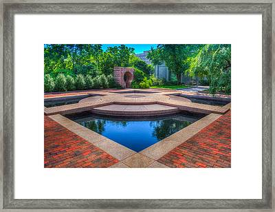 Moon Pool Framed Print by Dado Molina