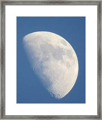 Moon Rise Copperville Framed Print