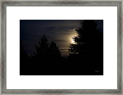 Moon Rising 02 Framed Print by Thomas Woolworth