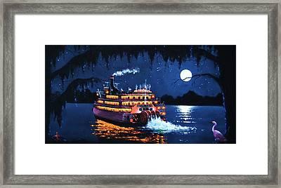 Moon River Framed Print