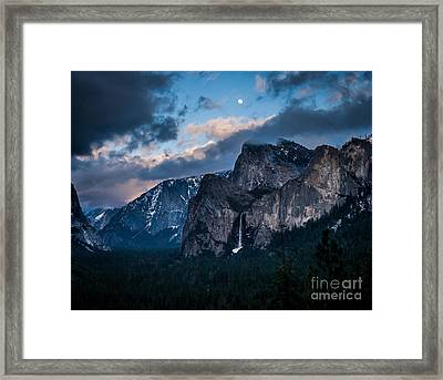 Moon Rock Framed Print