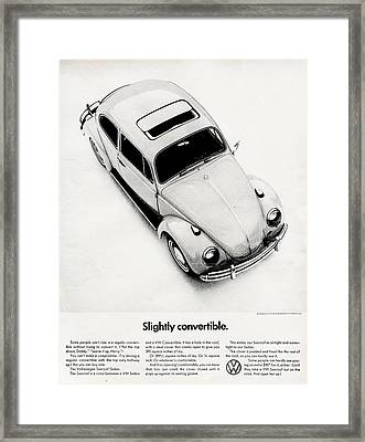 Moon Roof Framed Print by Benjamin Yeager