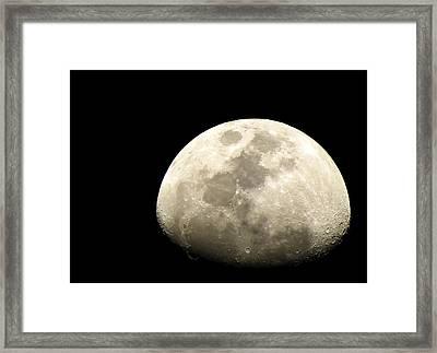 Moon Framed Print by Sanjeewa Marasinghe