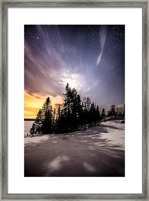 Moon Shadows Framed Print by Jakub Sisak