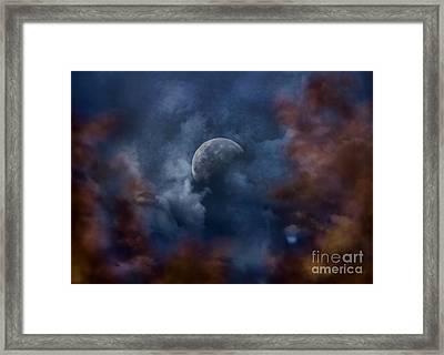 Moon Shine Framed Print by Andrea Kollo