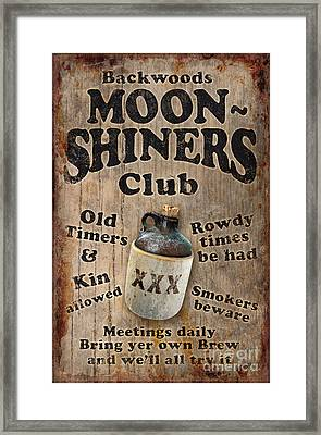 Moon Shiners Framed Print by JQ Licensing