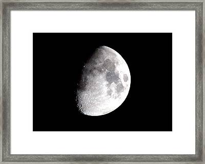 Laura's Moon Framed Print