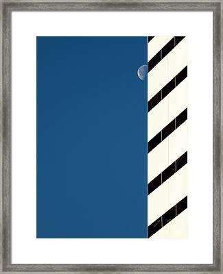 Moon Shot Framed Print