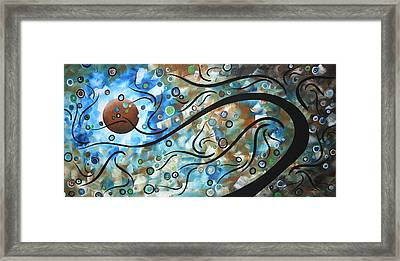 Moon Spell By Madart Framed Print by Megan Duncanson