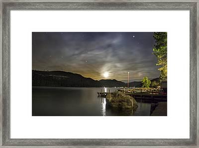 Moon Trance Framed Print by Jeremy Jensen
