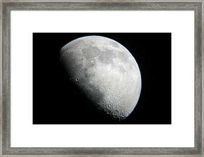 Moon View From Mamalluca Observatory Framed Print by Dorling Kindersley/uig