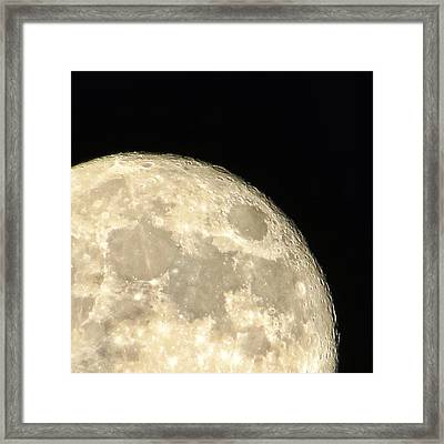 Moon Walk Framed Print