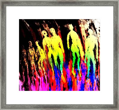 The Moon Walkers Are Finally Coming Home  Framed Print