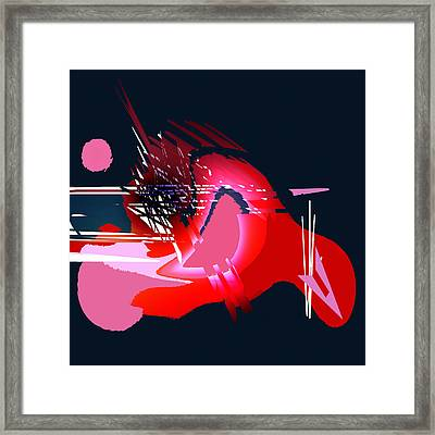 Moonbird Framed Print by Andrew Penman