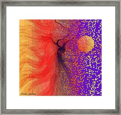 Moondance Framed Print by Carola Ann-Margret Forsberg