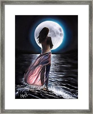 Moondance Framed Print by Chris Perry