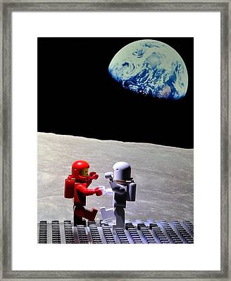 Moondance Framed Print