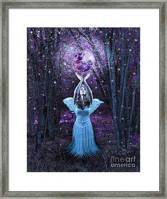 Moondance Framed Print by Tammy Collins