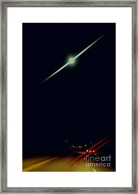 Moondate Framed Print