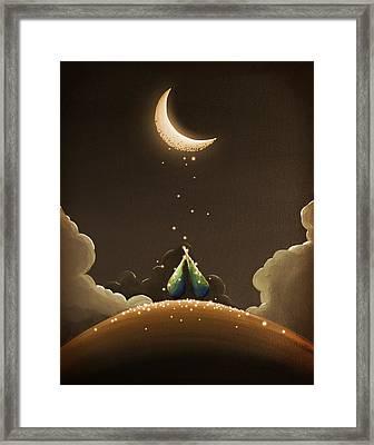 Moondust Framed Print by Cindy Thornton