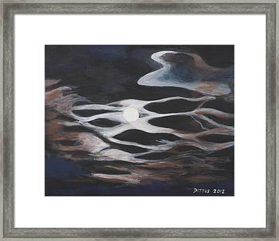 Moonglow Framed Print by Chrissey Dittus