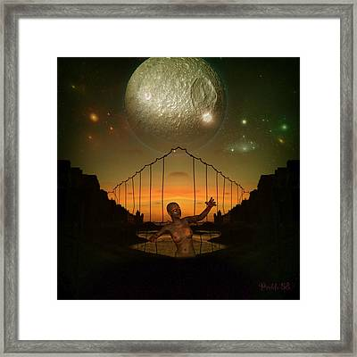 Moonglow Framed Print by D Preble