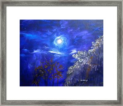 Moonglow Framed Print by Marita McVeigh
