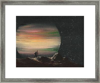 Moonhunter Framed Print