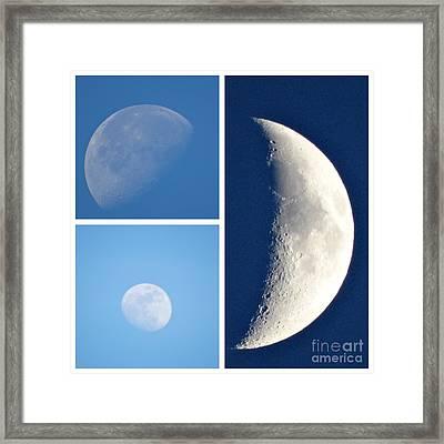 Mooning You  Framed Print