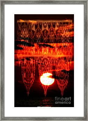 Moonlace Framed Print by PainterArtist FIN