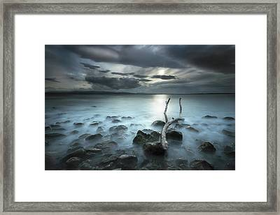 Moonland Framed Print