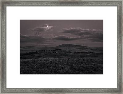 Moonlight Framed Print