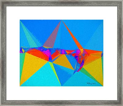 Moonlight Bay 010 Framed Print