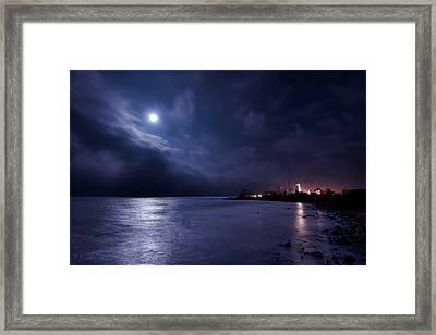 Moonlight Bay Framed Print