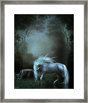 Moonlight Becomes Her Framed Print