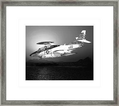 Moonlight Buckeye T 2c Training Mission Framed Print by Jack Pumphrey