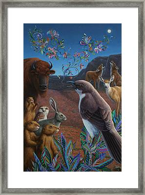 Moonlight Cantata Framed Print