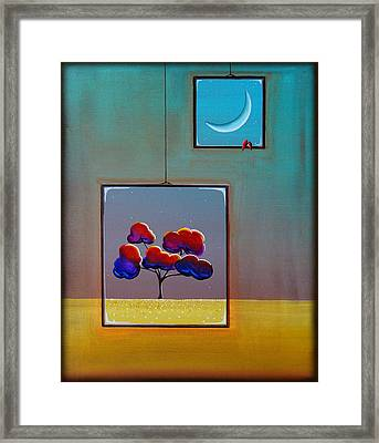 Moonlight Framed Print by Cindy Thornton