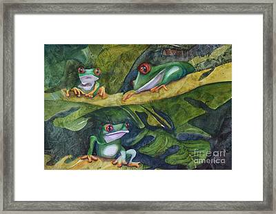 Moonlight Crooners Framed Print