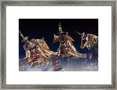 Framed Print featuring the digital art Moonlight Dance by Angelika Drake