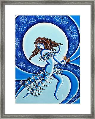Moonlight Dancer Framed Print