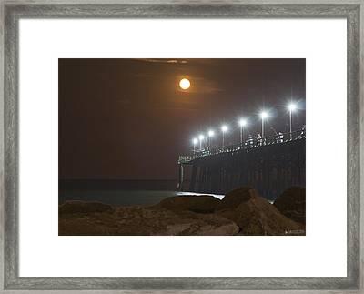 Moonlight Feels Right Framed Print