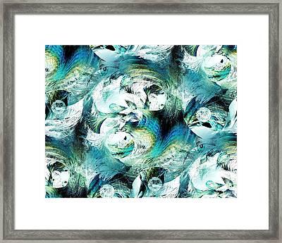 Moonlight Fish Framed Print by Anastasiya Malakhova