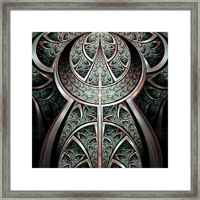 Moonlight Gates Framed Print by Anastasiya Malakhova