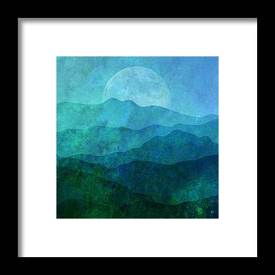 Moonlight Framed Prints