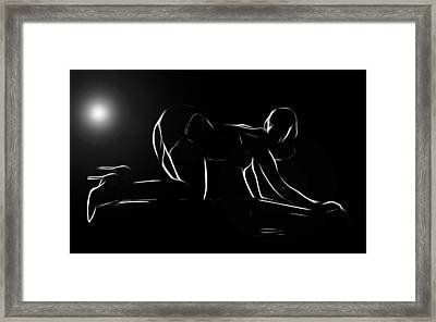 Moonlight Hour Framed Print